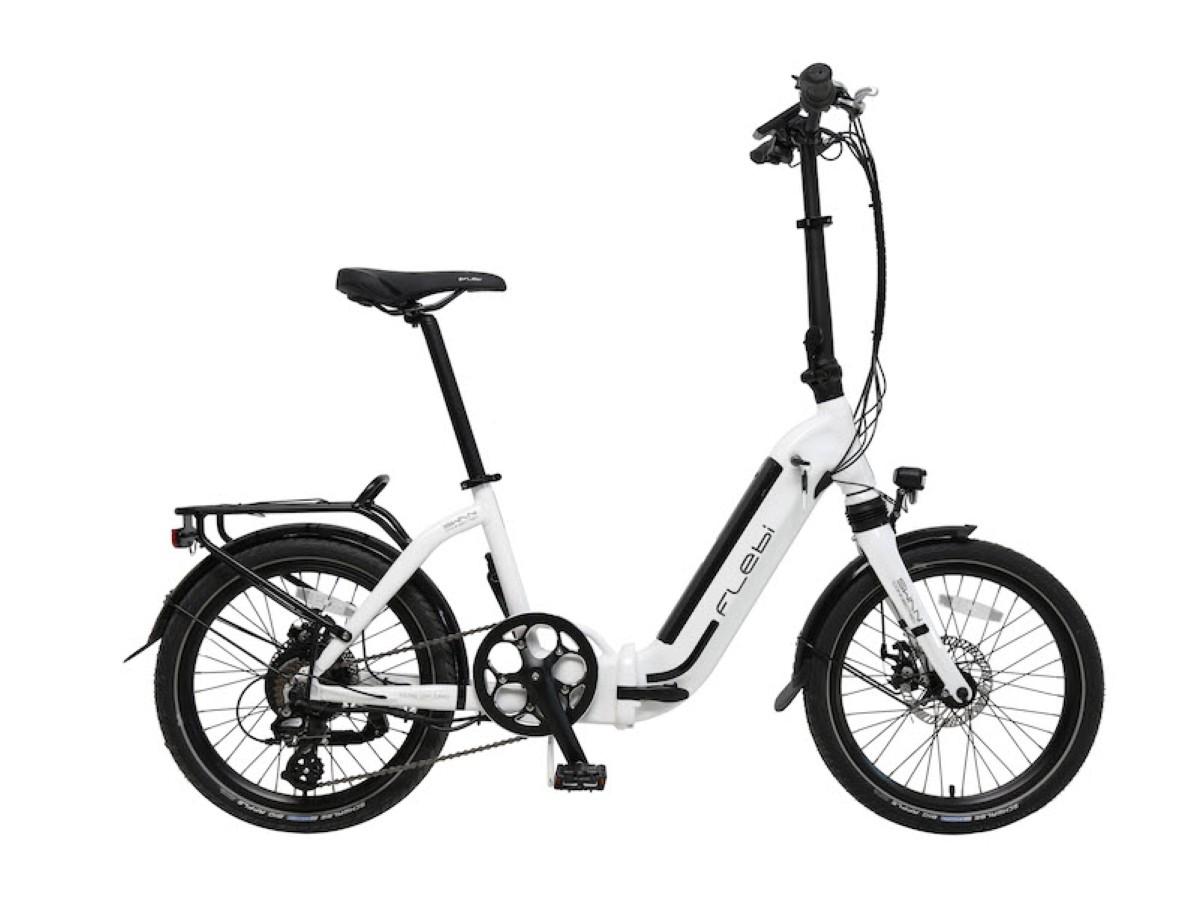 Bicicleta eléctrica plegable Flebi Swan Plus