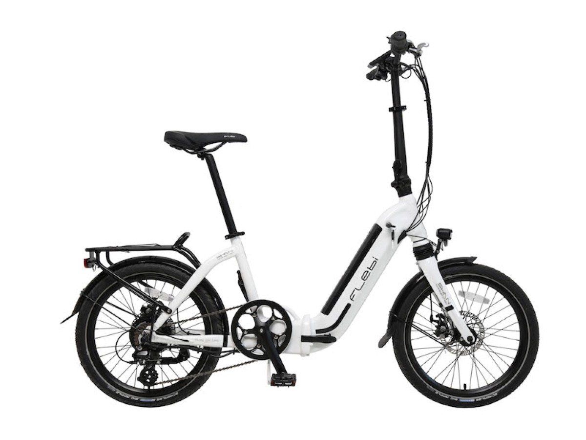 Electric folding bike Flebi Swan Plus