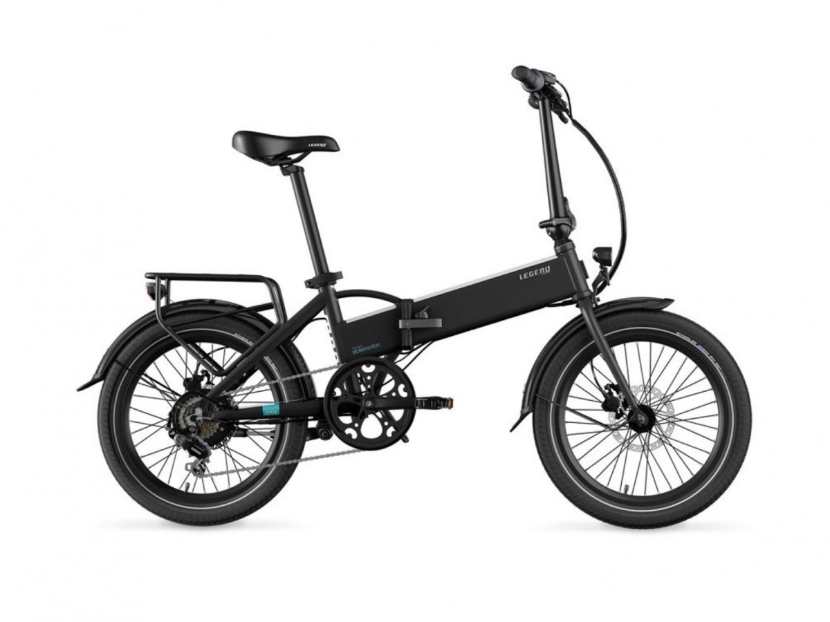 Bicicleta eléctrica plegable Legend Monza Smart
