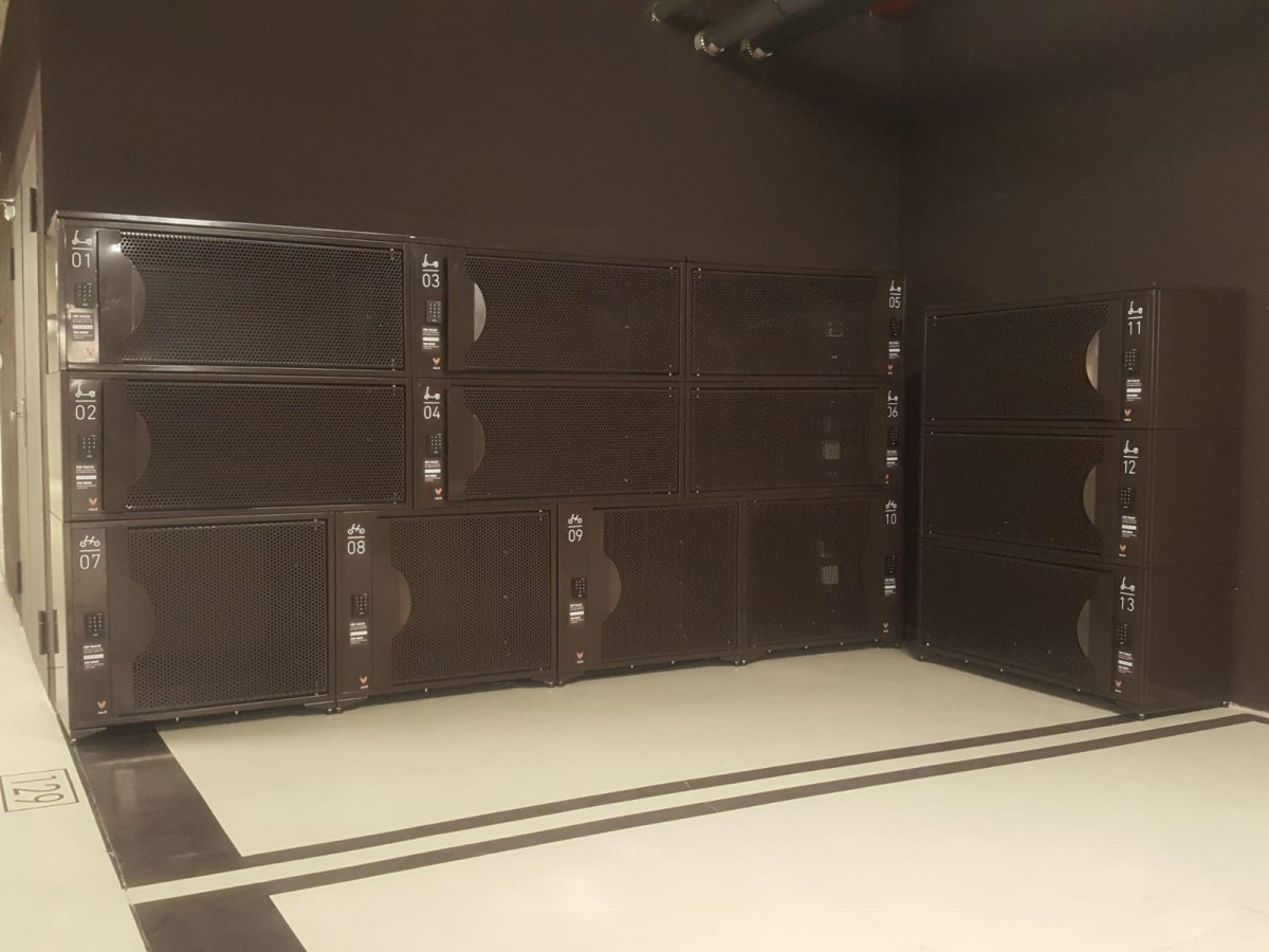 VAICBox - Modular lockers for kickscooters and folding bicycles