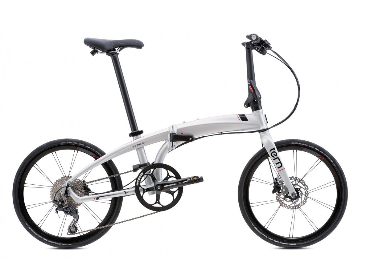Folding bike Tern Verge P10