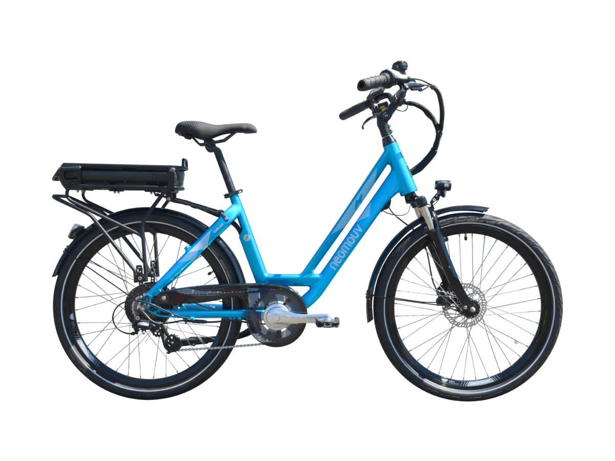 Bicicleta eléctrica urbana Neomouv Carlina HY