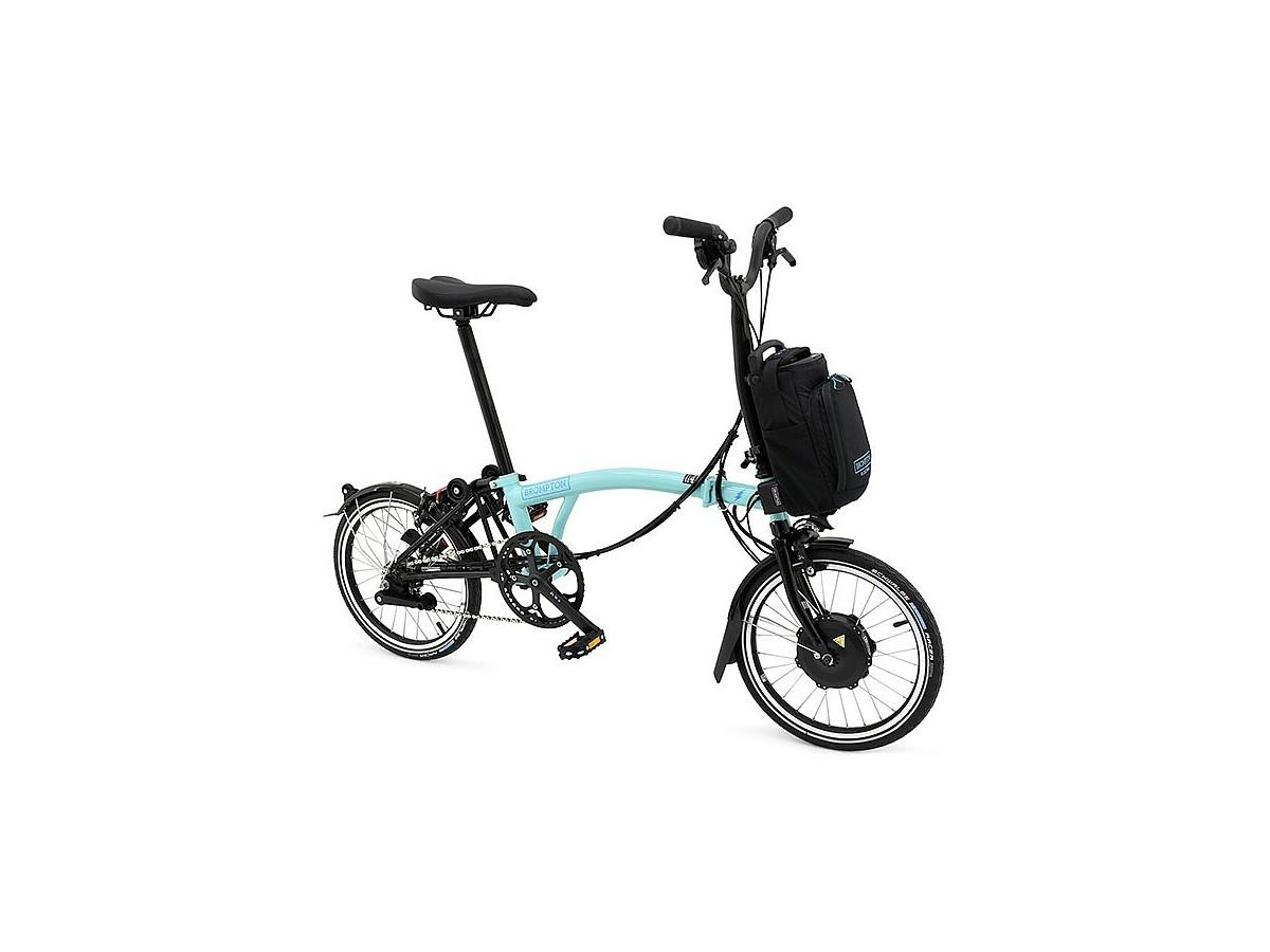 Folding Bike Brompton Electric M6L - Turkish Green