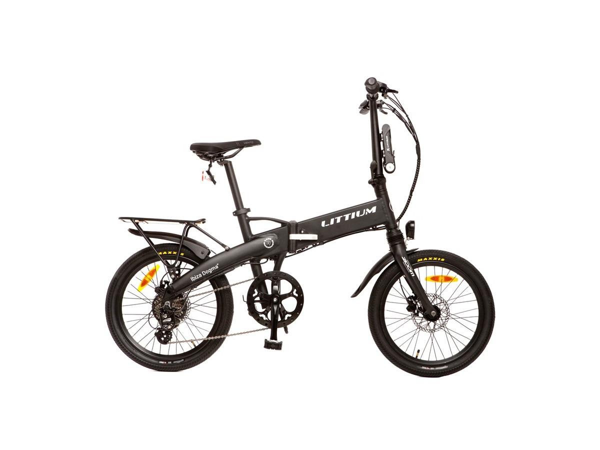 Bicicleta eléctrica plegable Littium Ibiza Dogma 3