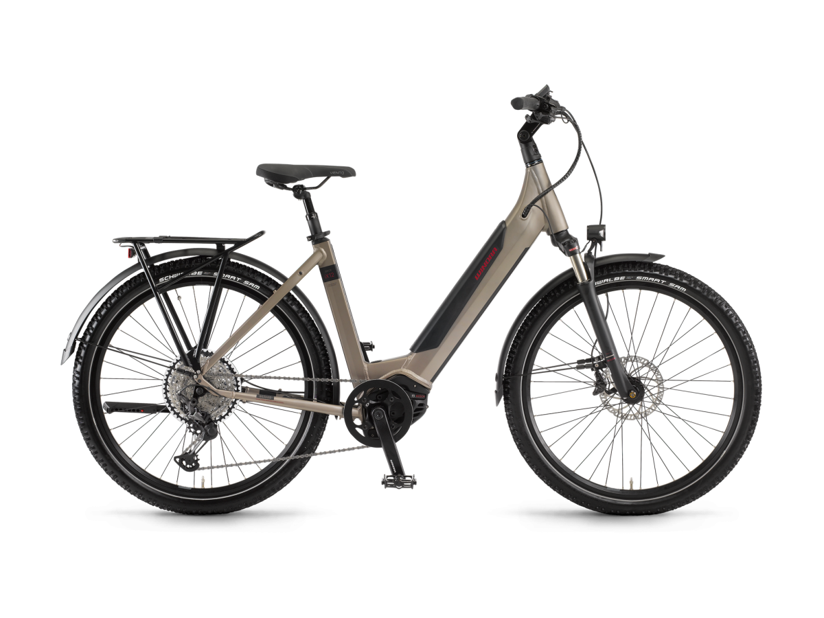 Multipurpose electric bike Winora Sinus iX12 Step-through