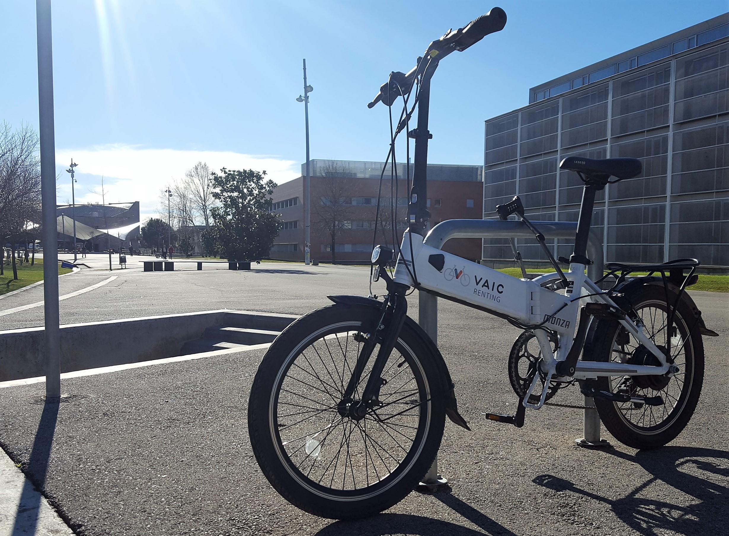 bicicleta electrica plegable renting