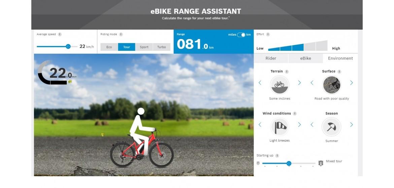 Calcula l'autonomia de la teva bicicleta elèctrica amb motor Bosch!